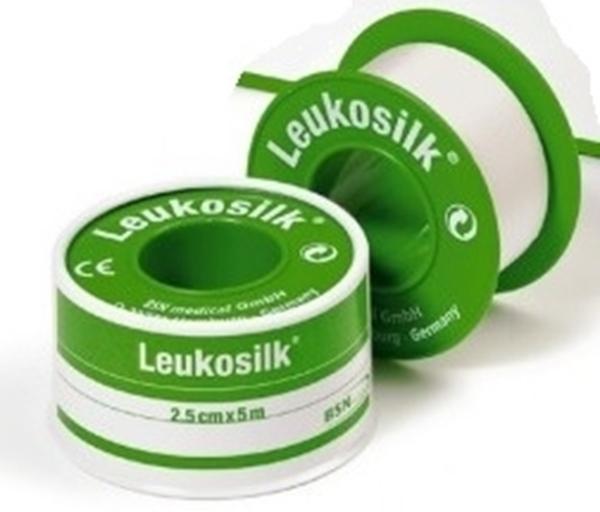 Bild von Leukosilk® Rollenpflaster Fixierpflaster weiss 2.5cmx5m