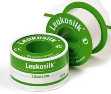 Bild von Leukosilk® Rollenpflaster Fixierpflaster weiss 5.0cmx5m