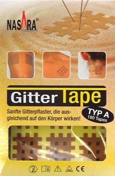 Bild von Nasara® Gitter Tape Typ A (2.2x2.7cm) - 180 Stk