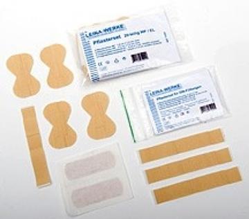 Bild von Pflaster Set 40-teilig elastisch wasserfest - Farbe blau