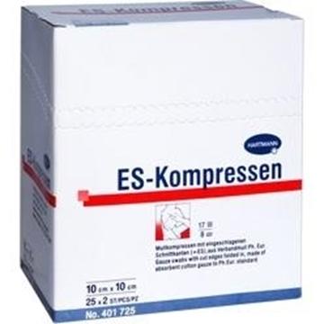 Bild von Beesana® Schlitzkompressen unsteril 10x10 cm (10 Stk)