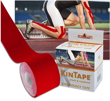 Bild von KK KinTape Kinesiologie Tape 5cmx5m - rot