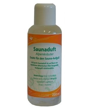 Bild von Saunaduft Premium 200ml Alpenkräuter