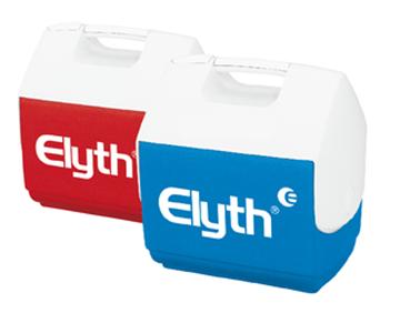 Bild von Eisbox Igloo ELYTH  6.5 Liter rot/weiss