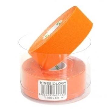 Bild von Kinesiologie Tape *Nasara* orange 2.5cmx5m (2 Rollen)