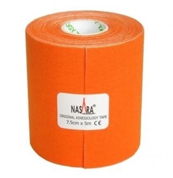 Bild von Kinesiologie Tape *Nasara* orange 7.5cmx5m