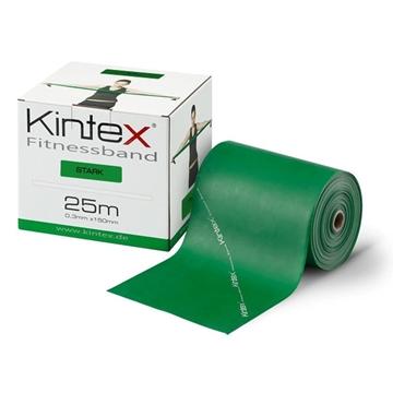 Bild von Kintex Fitnessband Bulk Rolle 25m - grün stark