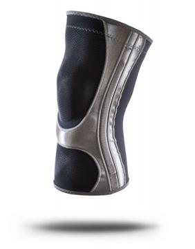 Bild von Hg80 Kniegelenkschutz, schwarz / grau, Grösse: L