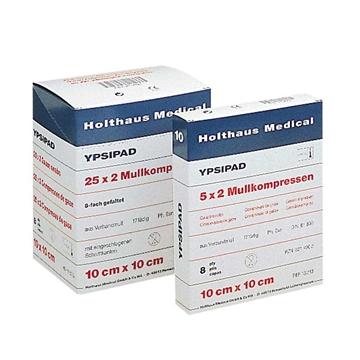 Bild von Holthaus Medical YPSIPAD Mullkompresse, 8-fach, steril