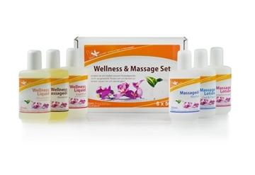 Bild von Wellness und Massage Set 6 x 50 ml Flaschen