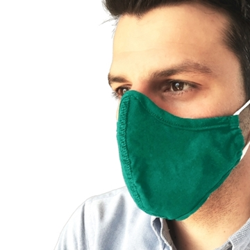 Bild von ELYTH Face Mask Contour dunkelgrün