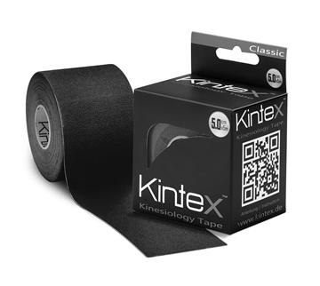 Bild von Kinesiologie Tape *Kintex Classic* - 5cmx5m schwarz