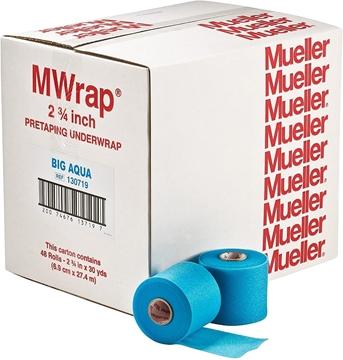 Bild von Mueller Wrap - Unterverband - 1 Karton (eine Farbe) 48 Stk